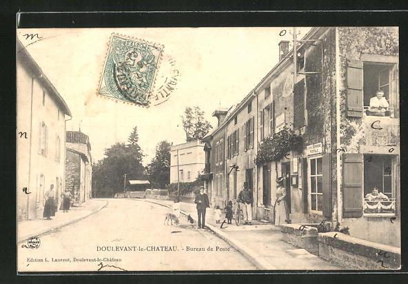 AK Doulevant-le-Chateau, Bureau de Poste / Postamt 0