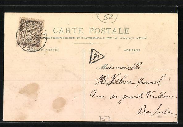 AK Doulevant-le-Chateau, Bureau de Poste / Postamt 1
