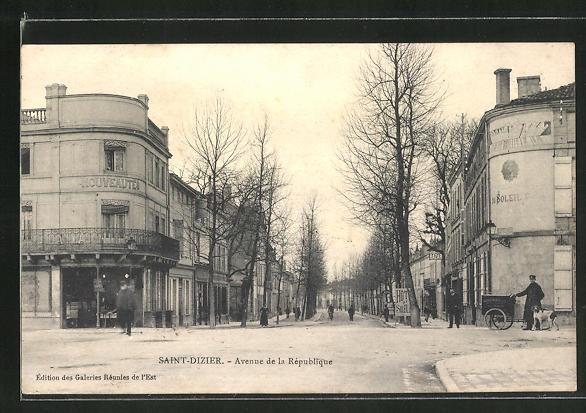 AK Saint-Dizier, Avenue de la République 0