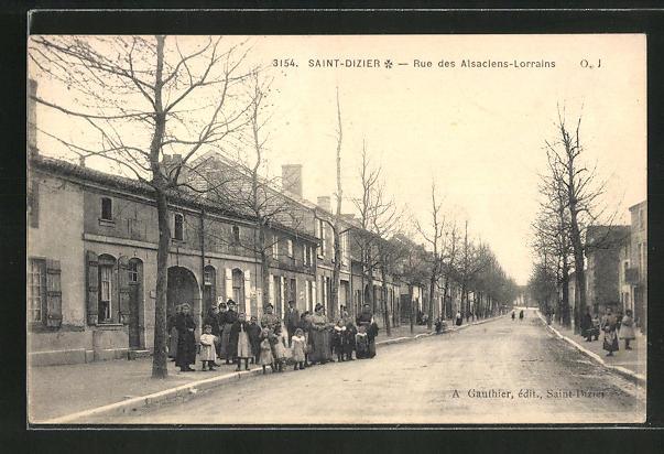 AK Saint-Dizier, Rue des Alsaciens-Lorrains 0