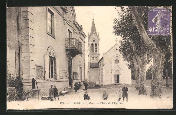 AK Seyssuel, Place de l'Eglise 0