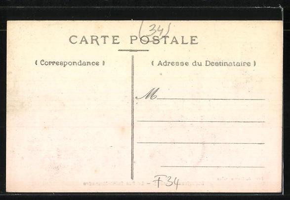 AK Bédarieux, La Rue Saint-Alexandre 1