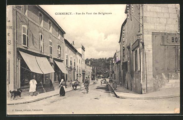 AK Commercy, Rue du Pont des Religieuses 0