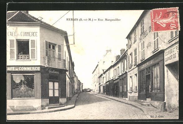 AK Rebais, Cafe du Commerce, Rue Margouiller 0