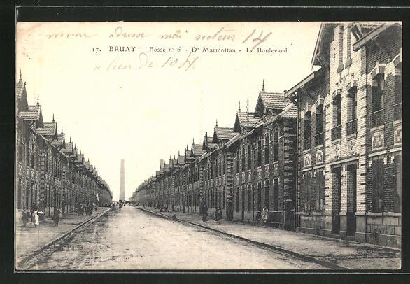 AK Bruay, Fosse No. 6, Dr. Marmottan, Le Boulevard 0
