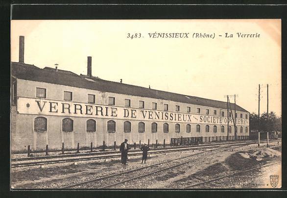 AK Vénissieux, La Verrerie, Glasmacherei 0