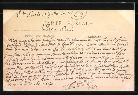 AK Vénissieux, La Verrerie, Glasmacherei 1