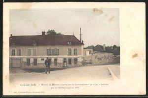 AK Arcis-sur-Aube, Maison de Danton