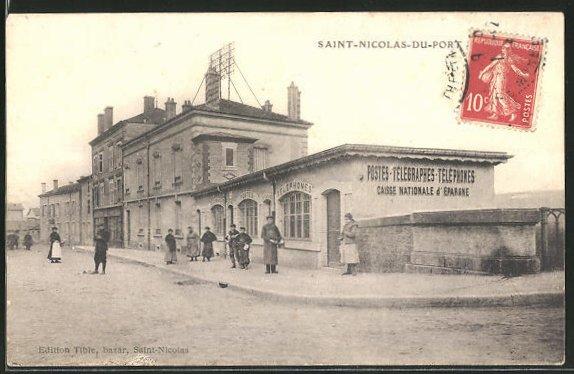AK Saint-Nicolas-du-Port, Postes-Télégraphes-Téléphones, Postamt 0