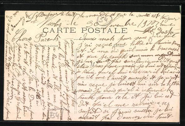 AK Saint-Nicolas-du-Port, Postes-Télégraphes-Téléphones, Postamt 1