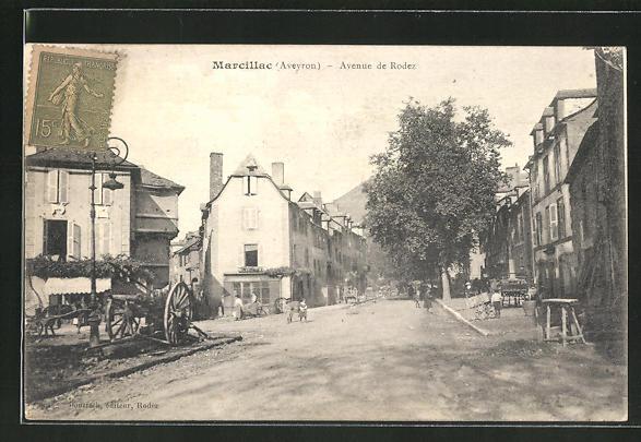AK Marcillac, Avenue de Rodez 0