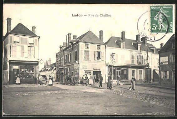 AK Ladon, Rue du Chaillot 0