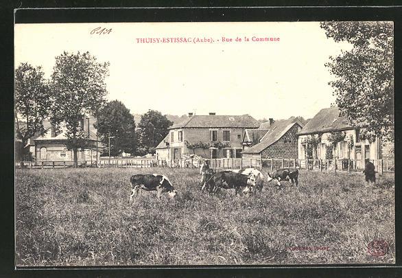 AK Thuisy-Estissac, Rue de la Commune 0