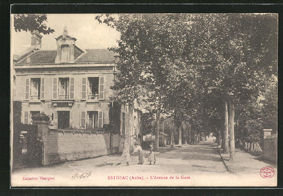 AK Estissac, L'Avenue de la Gare 0