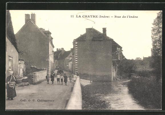 AK Le Chatre, Rue de l'Indre 0
