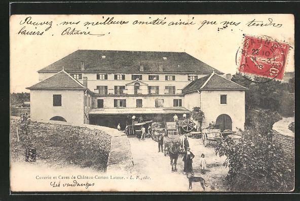 AK Corton, Cuverie et Caves de Chateau-Corton Latour 0