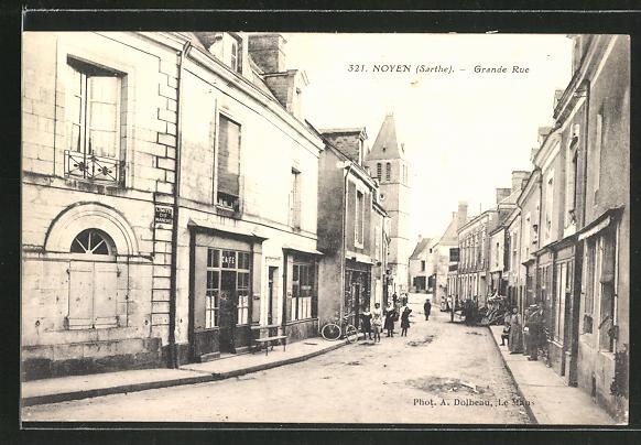 AK Noyen, Grande Rue, Strassenpartie 0