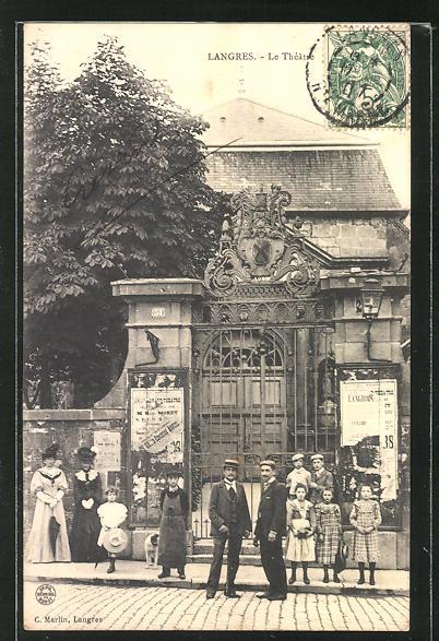 AK Langres, Le Théatre, am Theater 0