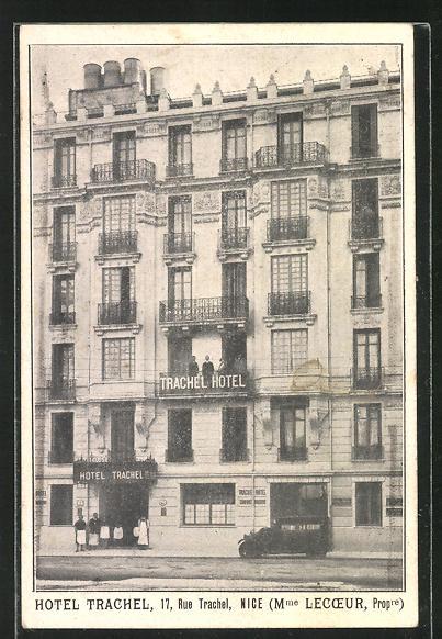 AK Nice, Hotel Trachel, 17 Rue Trachel 0