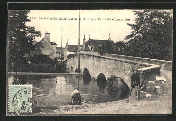 AK St-Amand-Montrond, Pont de Charenton 0