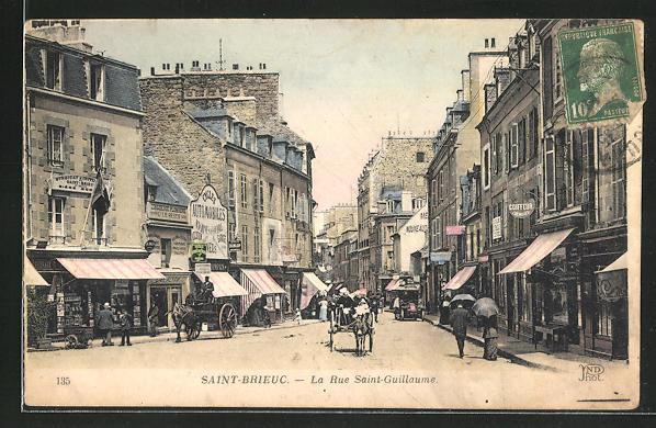 AK Saint-Brieuc, La Rue Saint-Guillaume 0