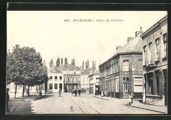 AK Tourcoing, Place du Calvaire 0