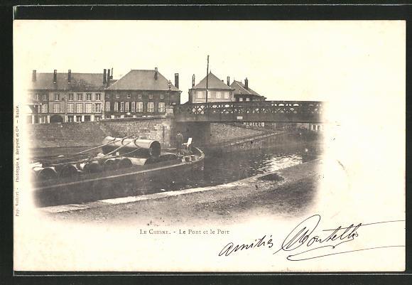 AK Le Chesne, Le Pont et le Port