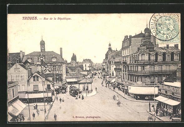 AK Troyes, Rue de la République