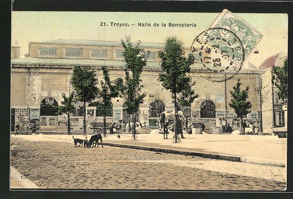 AK Troyes, Halle de la Bonneterie