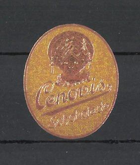 Reklamemarke Cenovis Schokolade, Portrait eines Jungen mit Turban