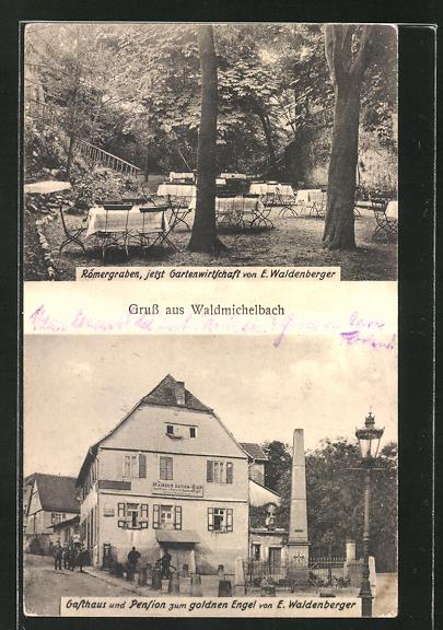 AK Waldmichelbach, Gasthaus und Pension