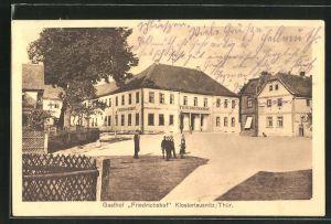 AK Klosterlausnitz / Thür., Gasthaus Friedrichshof