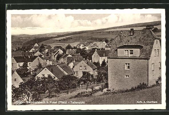 AK Rammelsbach /Pfalz, Teilansicht der Ortschaft