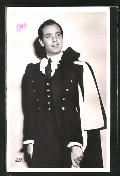 AK Schauspieler Georges Guetary im Kostüm seiner Filmrolle