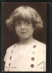 AK Schauspielerin Regine Dumien