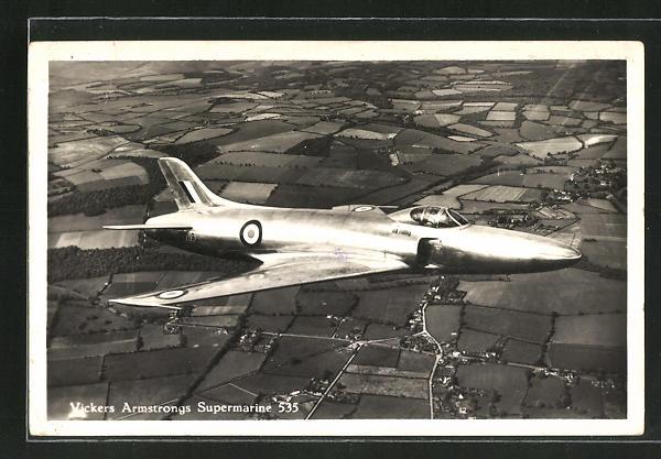 AK Vickers Armstrong Supermarine 535, Kampfjet