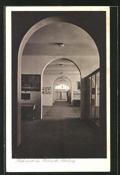 AK Magdeburg, Deutsche Theater-Ausstellung 1927, Historische Abteilung