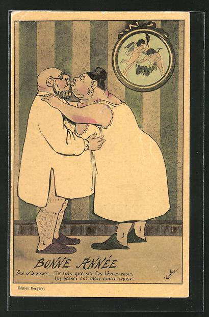 AK Übergewicht, Duo d' amour - Tu sais que sur tes lèvres roses un baiser est bien douce chose