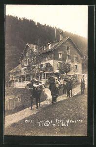 AK Flums, Gasthof & Kurhaus Tschudiwiese