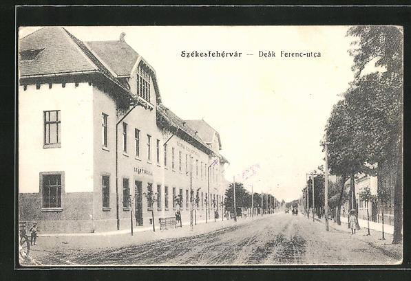 AK Szekesfehervar, Deák Ferenc-utca