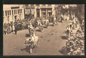 AK Hasselt, Processie van het H. Sacrament van Mirakel 1804-1929, 4 en 11 Augustus
