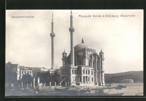 AK Constantinople, Mosquée Valide á Orlakewy, Moschee