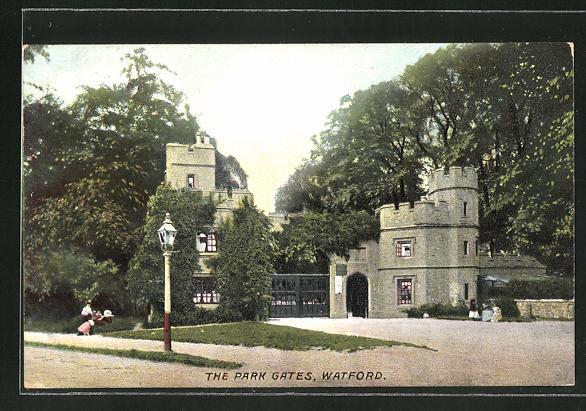 AK Watford, The Park Gates 0