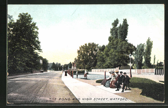 AK Watford, The Pond and High Street 0