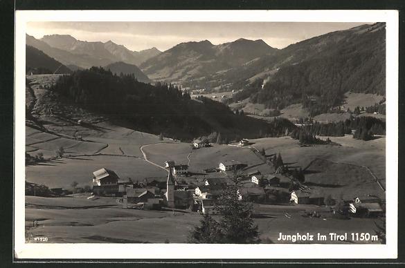 AK Jungholz, Gesamtansicht mit bewaldeten Hügeln