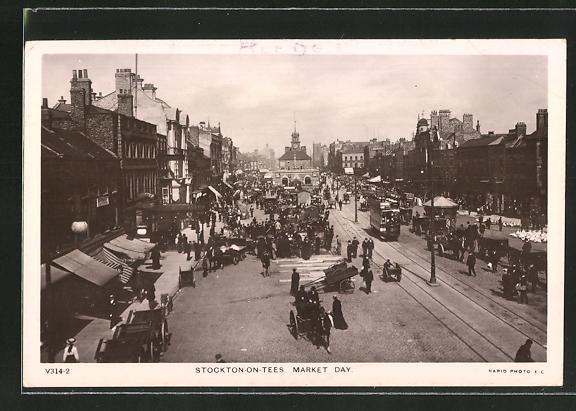 AK Stockton-on-Tees, Market Day