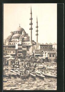 AK Constantinople, Mosque de la Sultane Valide à Stamboul