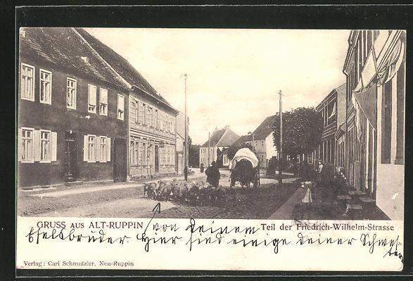 AK Altruppin, Teil der Friedrich-Wilhelm-Strasse