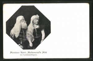AK Albinos Monsieur Harri & Mademoiselle Mitti
