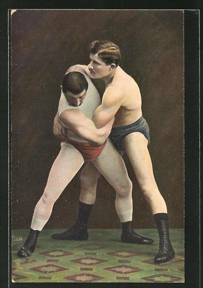 AK Wrestling, The Double Arm Lock, Ringen
